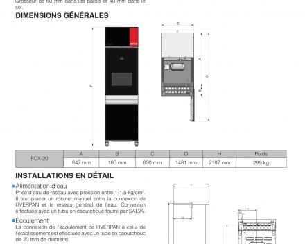 Promotie: NIEUW MODEL ! REMRIJSKAST SALVA IVERPAN FCX-20