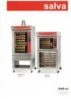 Combinatie van 2 kwik-co bake off ovens