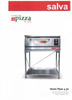 SALVA pizza oven 1 verdiep