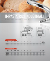industriele kneder VEMA enkel en dubbel spiraal