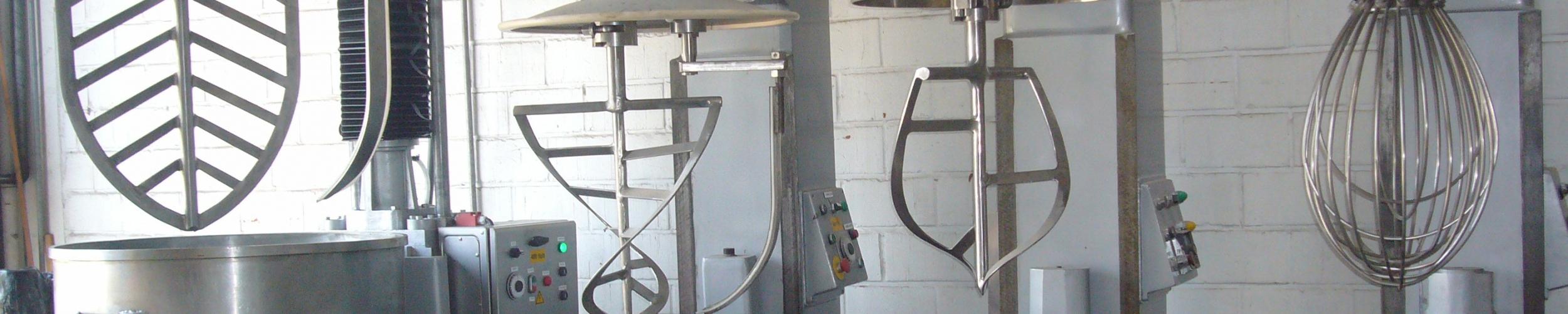 Industriele ovens en mengers tweedehands