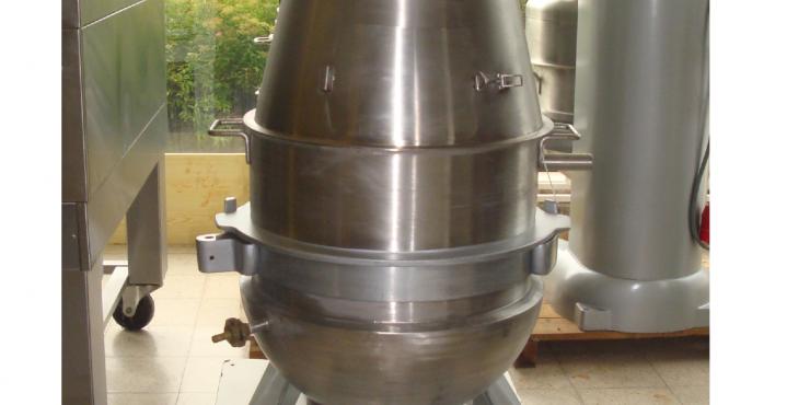 BEAR RN100 met dubbelwandige kuip 100 L (Tweedehands)