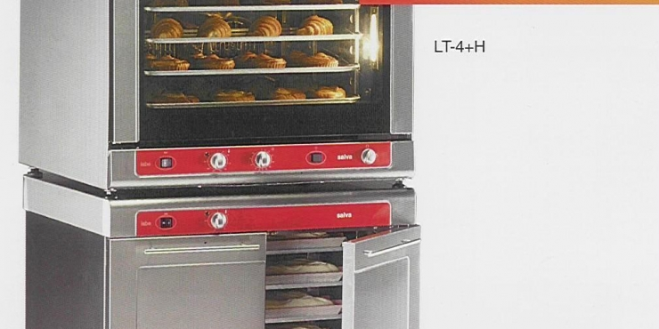 SALVA Labe Trans bake off oven