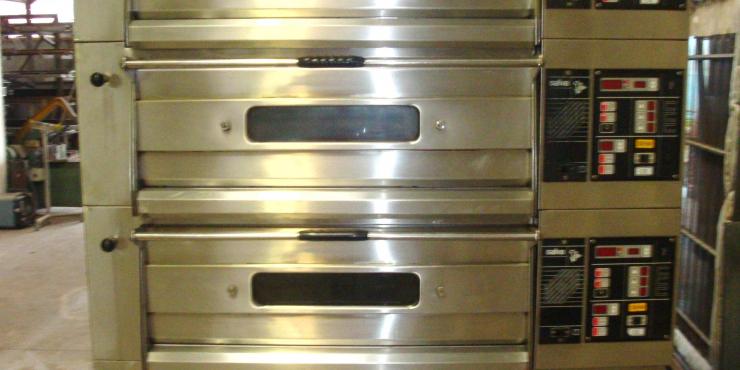 SALVA Modular Elektrisch 3 VERDIEP (3X4 PL 40/60)+ONDERSTEL (Verkocht) (Tweedehands)