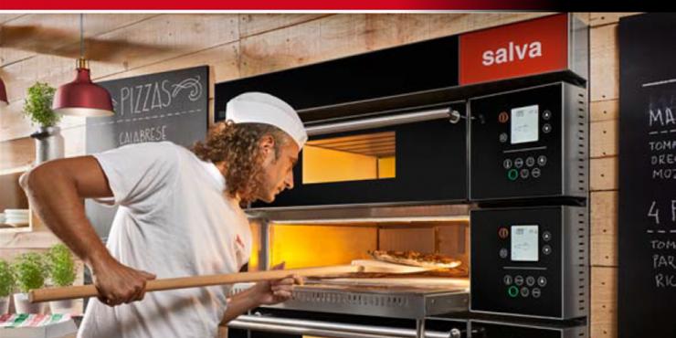 SALVA type MODULAR pizza oven - nieuw en vorig model