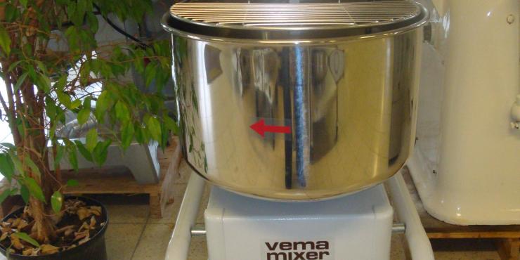 Spiraalkneder VEMA MIXER 25 kg deeg