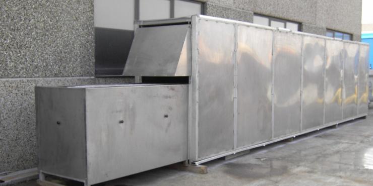 tunneloven voor galetten of boterwafels (Tweedehands)
