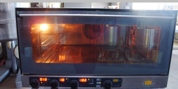 UNOX Bake off oven 3 pl 40/60 (Tweedehands)
